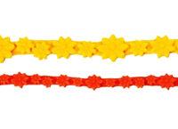 Бордюр силиконовый для мастики 290×50 ST07 цветочки_1