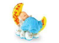 Сахарное украшение Младенец на месяце Мальчик