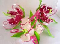Художественная лепка роз из карамели