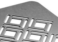 Решетка из нержавеющей стали для декора GD3