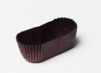 Капсула овальная бумажная коричневая
