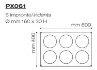 Форма силиконовая PX061