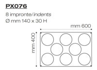 Форма силиконовая PX076