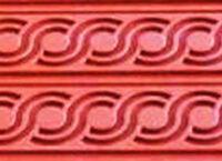 Коврик силиконовый бордюрный для мастики 400×600 TB02 узор