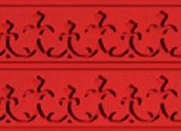 Коврик силиконовый бордюрный для мастики 400×600 TB03 узор