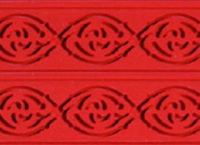 Коврик силиконовый бордюрный для мастики 400×600 TB04 узор