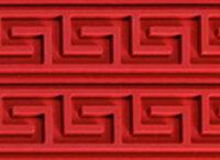 Коврик силиконовый бордюрный для мастики 400×600 TB05 узор