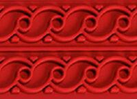 Коврик силиконовый бордюрный для мастики 400×600 TB07 узор