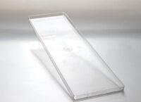 Лоток пластиковый для хранения десертов 400x120 h10 TRAYGELMINI