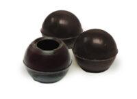 Декоративное украшение из натурального шоколада 77013 Трюфельные капсулы dark