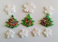 Сахарное украшение Набор Зимний лес