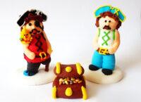 Сахарное украшение Набор Пираты
