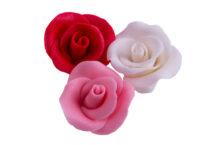 Сахарное украшение Набор Розы большие ПРЕМИУМ