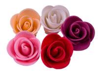 Сахарное украшение Набор Розы большие