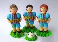 Сахарное украшение Набор Футболисты маленькие_2