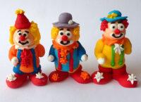 Сахарное украшение Набор Веселые клоуны