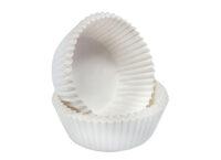 Капсула бумажная круглая белая