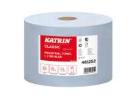 Протирка бумажная ламинированная (трёхслойная) Кэтрин Классик L3 голубая 481252