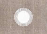 Салфетка ажурная круглая №25
