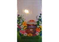 Упаковочный пакет с рисунком «ЦВЕТОЧКИ»