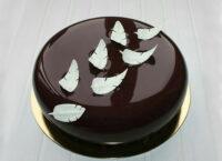 ГлазурьMirall DARK CHOCOLATE темный шоколад пример использования