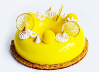 ГлазурьMirall LIMONE лимон пример использования
