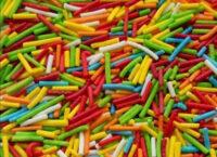 Посыпка кондитерская сахарная Палочки №1