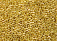 Шарики сахарные золото 3 мм