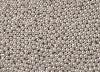 Шарики сахарные серебро 3 мм