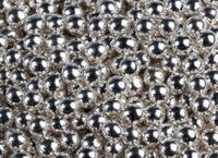 Шарики сахарные серебро 7 мм