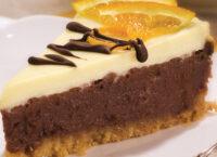 Апельсиново-шоколадный чизкейк