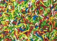 Посыпка кондитерская сахарная Палочки №4