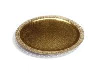 Поднос кондитерский D300 mm золото Leonardo