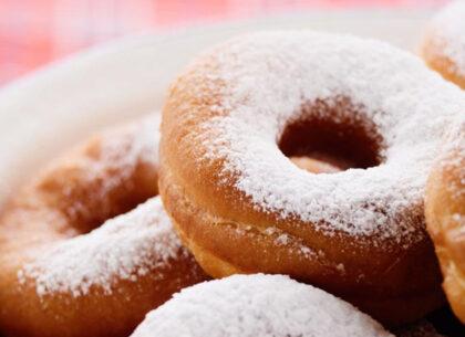 Сахарная пудра_пончики