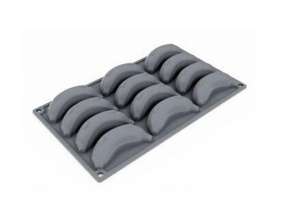Форма силиконовая для десертов 90x40.5 h25 GG035 BABY BANANA_форма