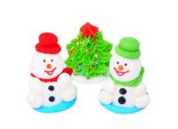 Сахарное украшение Набор новогодний объемный