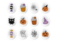 Декоративные сахарные фигурки Мини-Медальоны Хеллоуин tp79736