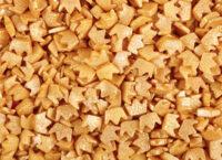 Посыпка кондитерская сахарная Короны золотые 750г